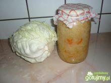 Kapusta kiszona z marchewką wg Reniz