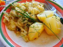 Kapusta młoda słodko-kwaśna do ziemniaków