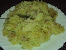 Kapusta razem z ziemniakami do obiadu