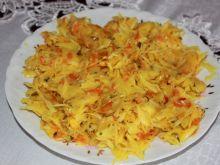 Kapusta z curry