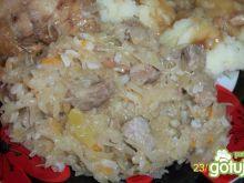 kapusta z ryżem  (do obiadu)