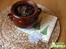 Kapusta z soczewicą i grzybami
