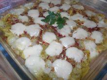Kapusta zapiekana z mozzarellą