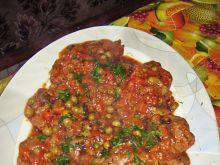 Karkówka duszona w pomidorach