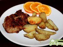 Karkówka grillowana z ziemniakami