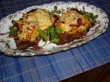 Karkówka pieczona z dynią i serem