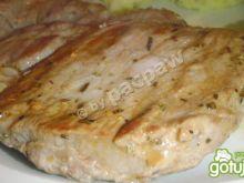 Karkówka rozmarynowa marynowana z curry