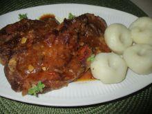 Karkówka w sosie pieczeniowym