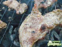 Karkówka winna na grilla