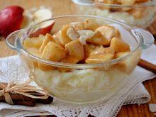 Karmelowy sos z ryżowym puddingiem