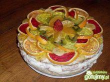 Karmelowy tort