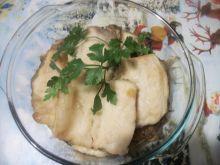 Karp z duszoną cebulką