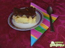 Karpatka z polewą czekoladową