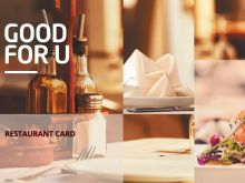 Voucher GOOD FOR U Restaurants
