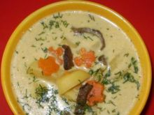 Kartoflanka z grzybami :