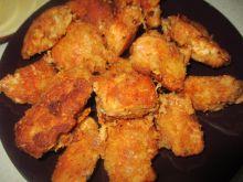 Kąski kurczaka w serowej panierce