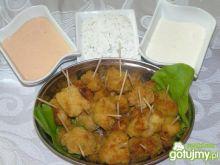 Kąski kurczakowe w płatkach kukurydziany