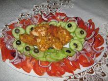 Kąski z kurczaka z warzywami
