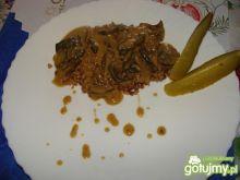 Kasza gryczana z sosem grzybowym Edzi