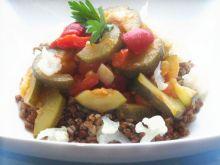 Kasza gryczana z warzywami