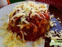 Kasza gryczana z warzywami i serem