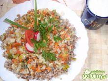 Kasza gryczana z warzywami wg gosi