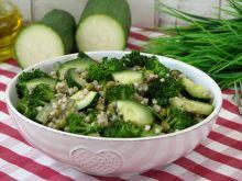 Kasza gryczana z zielonymi warzywami