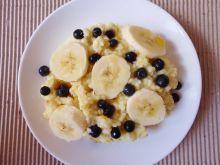 Kasza jaglana z bananami