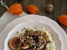 Kasza jaglana z karmelizowanymi figami