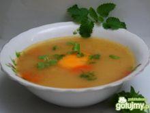 Kasza manna na rosole z żółtkiem (2)