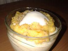 Kasza manna z musem morelowo-jogurtowym