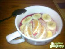 Kasza manna z owocami 3