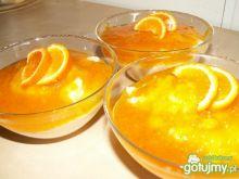 Kasza manna z syropem mandarynkowym