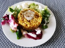 Kasza owsiana z ryżem curry