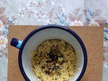 Kasza z pistacjami