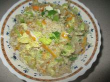 Kasza z warzywami