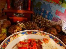 Kaszak gryczany z papryką i parówkami