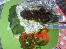 Kaszanka pieczona z grilla