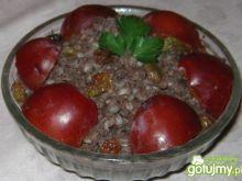 Kaszanka z owocową nutką