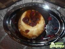 Kaszka manna z sosem balsamicznym