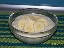 Kaszka owsiana z bananem
