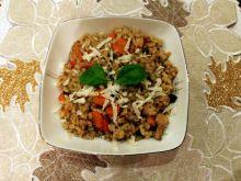 Kaszotto z kurczakiem i warzywami