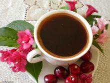Kawa aromatyzowana wiśniami :