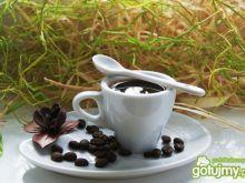 Kawa korzenna z kafetierki :