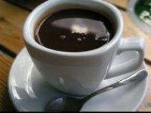 Kawa z koniakiem