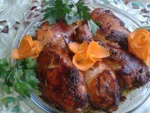 Kawałki kurczaka na ostro