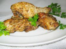 Kawałki kurczaka pieczone w piekarniku