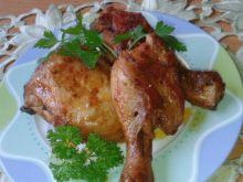 Kawałki kurczaka w marynacie sojowej