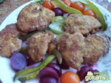 Kawałki kurczaka w pikantnej panierce