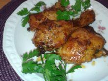 Kawałki kurczaka z piekarnika